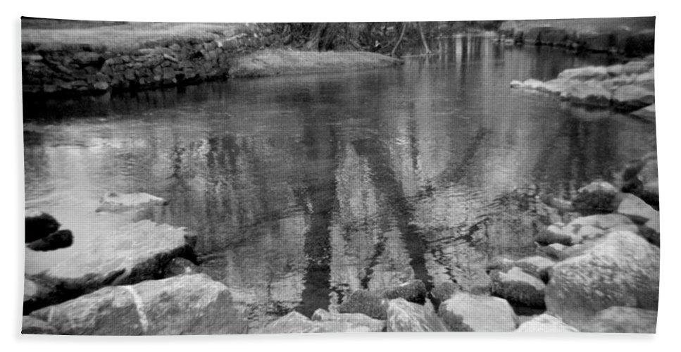 Photograph Beach Towel featuring the photograph Le Tort Reflection by Jean Macaluso