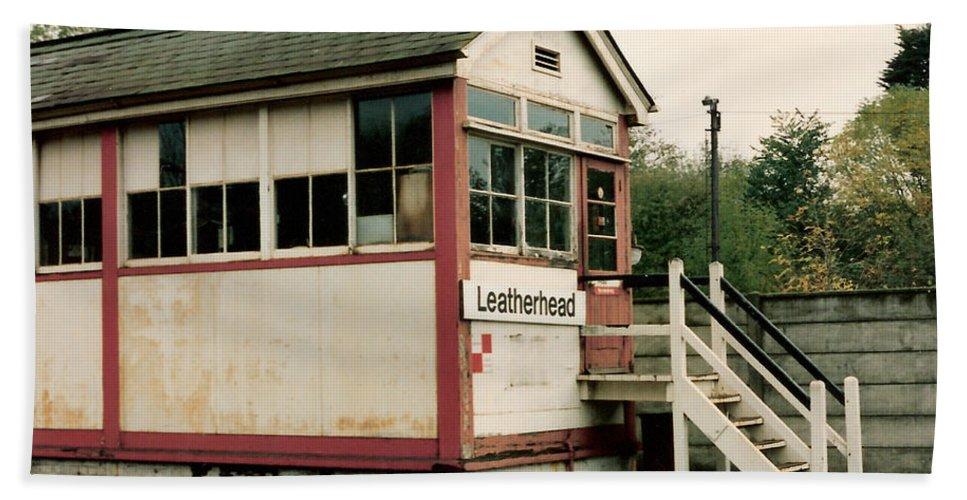 Leatherhead Beach Towel featuring the photograph Leatherhead Station by Lauri Novak