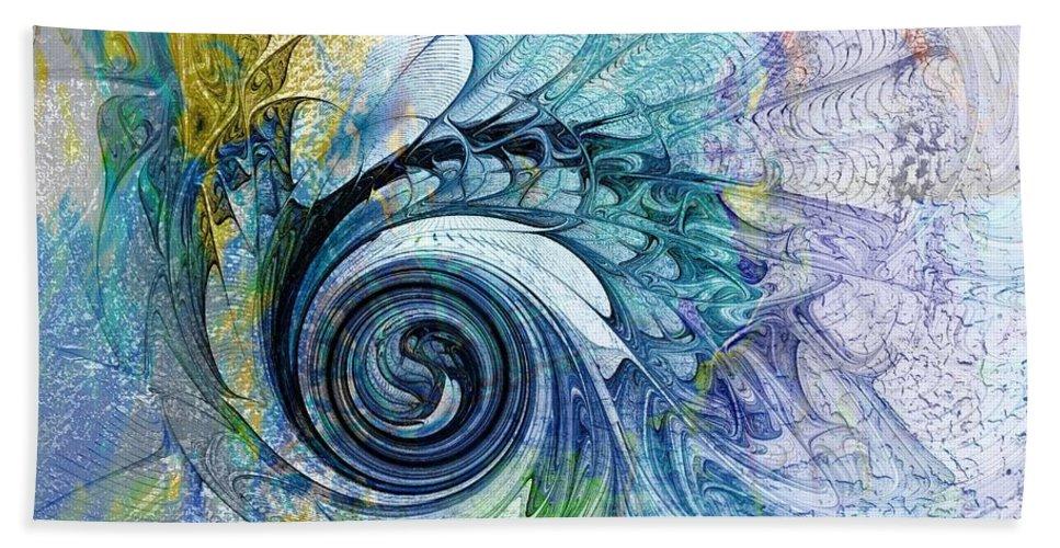 Digital Art Beach Towel featuring the digital art Leaving It All Behind by Amanda Moore