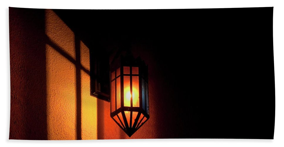 Festblues Beach Towel featuring the photograph Let There Be Light.. by Nina Stavlund