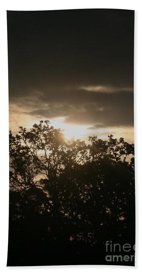 Light Beach Sheet featuring the photograph Light Chasing Away The Darkness by Nadine Rippelmeyer