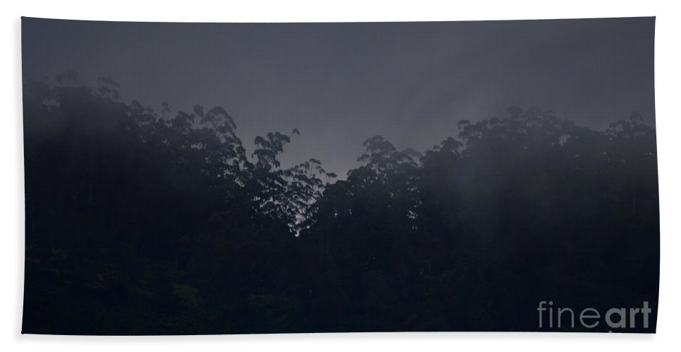 Light Beach Towel featuring the photograph Light by Suranga Basnagala