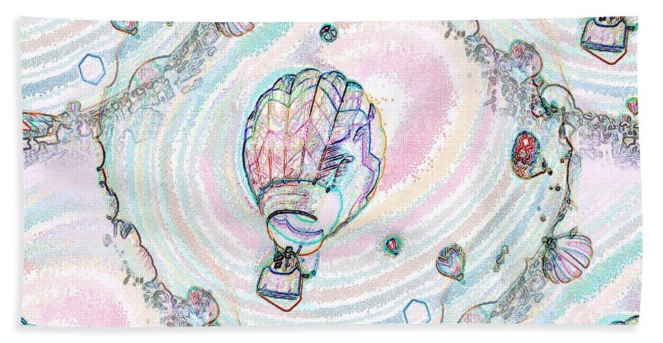 Balloons Beach Towel featuring the photograph Lighter Than Air by Tim Allen