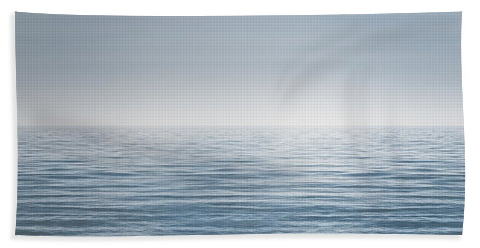 Water Beach Towel featuring the photograph Limitless by Scott Norris