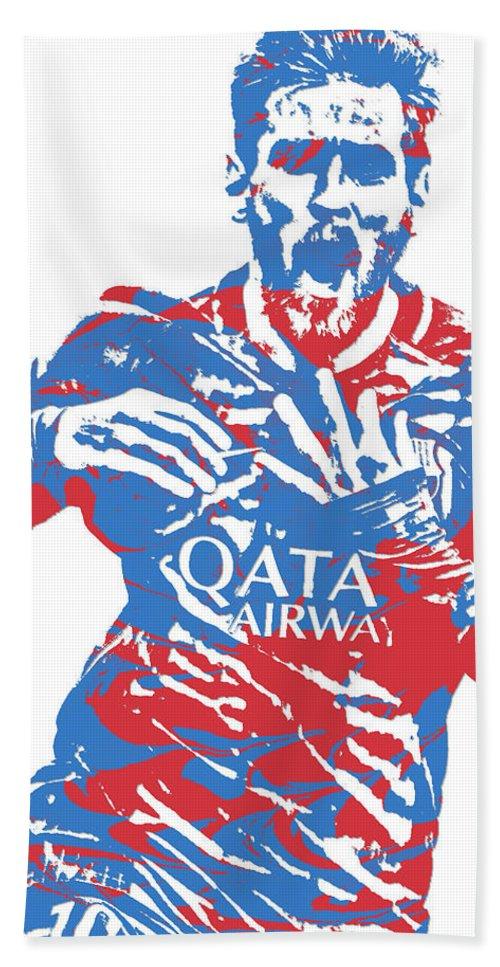 2c5ea3b14f9 Lionel Messi F C Barcelona Argentina Pixel Art 5 Beach Towel for Sale by Joe  Hamilton