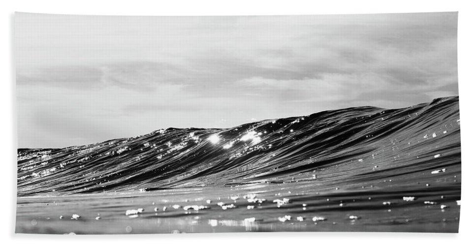 Liquid Beach Towel featuring the photograph Liquid Silver I by Kody McGregor