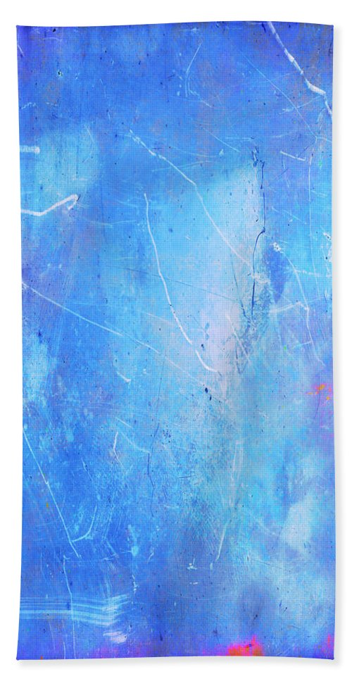 Blue Beach Towel featuring the painting Little Boy Blue by Julie Niemela