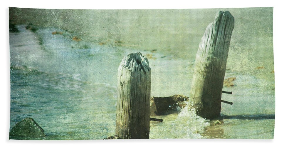 Vintage Beach Towel featuring the photograph Long Time Ago by Susanne Van Hulst