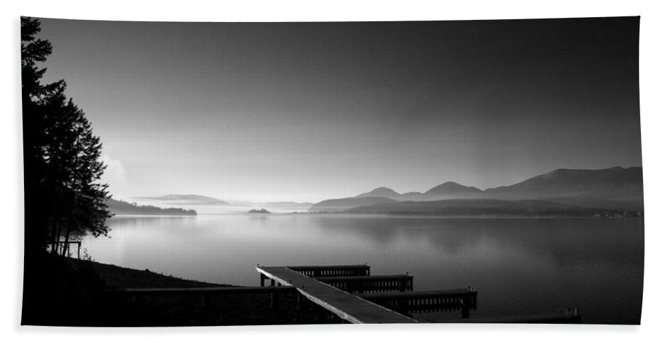 Landscape Beach Towel featuring the photograph Looking West From 41 South by Lee Santa