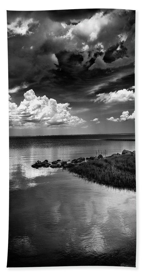Beach Beach Towel featuring the photograph Looks Like Rain by Marvin Spates