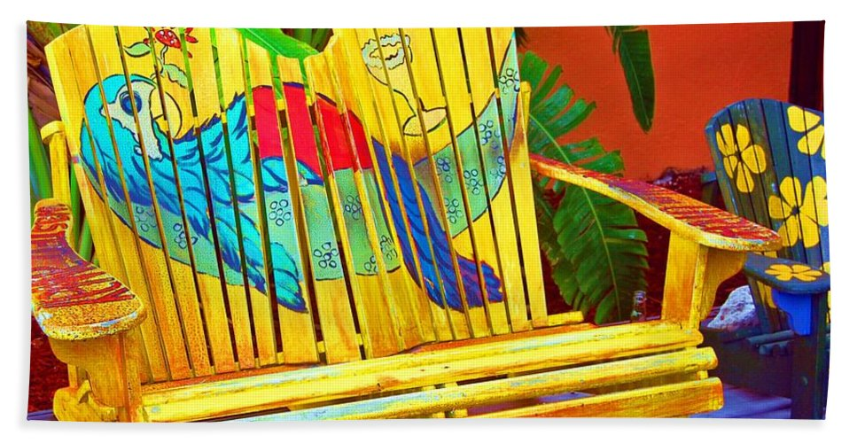 Tropical Beach Towel featuring the photograph Lost Shaker of Salt 2 by Debbi Granruth