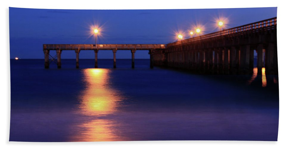 Nature Photograph Beach Towel featuring the photograph Love Blue by Mark Ashkenazi