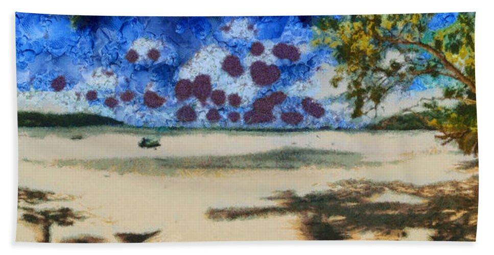 Seychelles Beach Towel featuring the photograph Lovely Beach by Ashish Agarwal