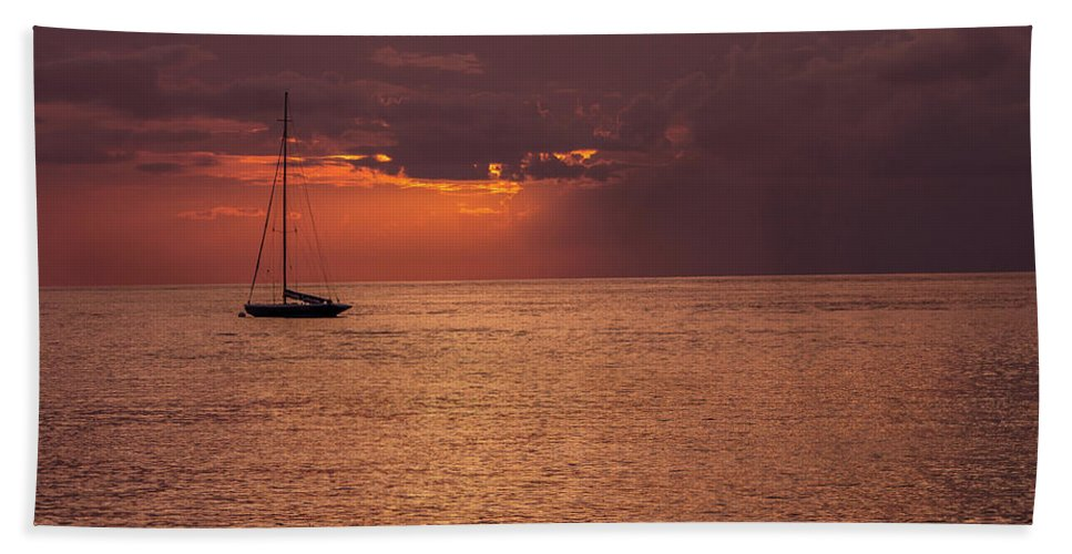 Sailing Beach Towel featuring the photograph Low Blood Pressure by Fred Boehm