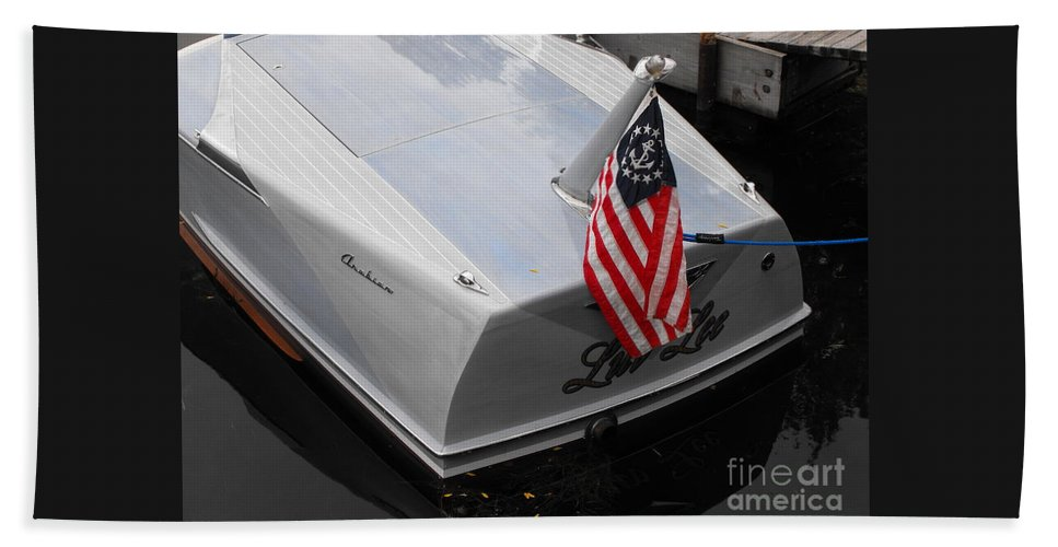 Powerboat Beach Towel featuring the photograph Century Arabian by Neil Zimmerman