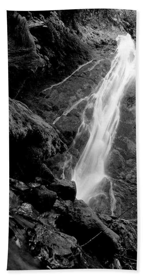 Travel Beach Towel featuring the photograph Madison Creek Falls Three by Nicholas Miller
