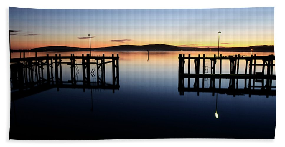 California Beach Towel featuring the photograph Magic At Bodega Bay California by Bob Christopher