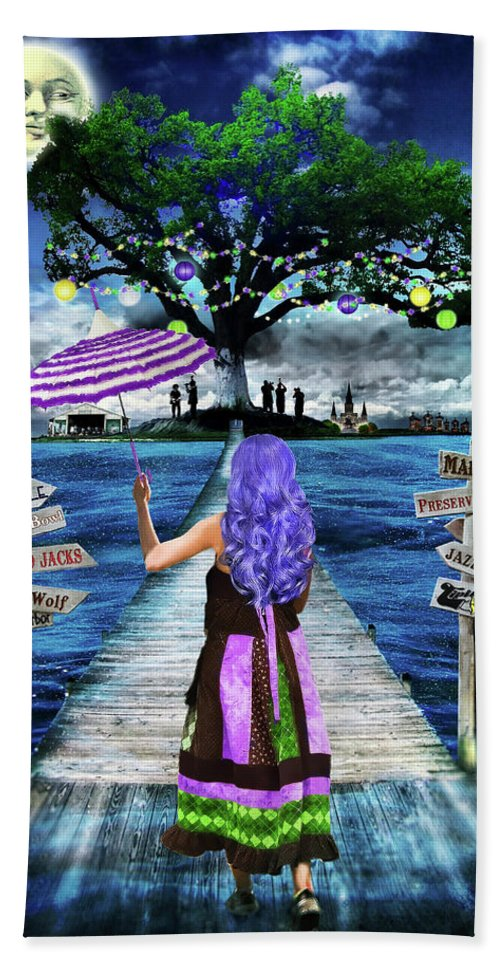 New Orleans Beach Towel featuring the photograph Magical New Orleans by Tammy Wetzel