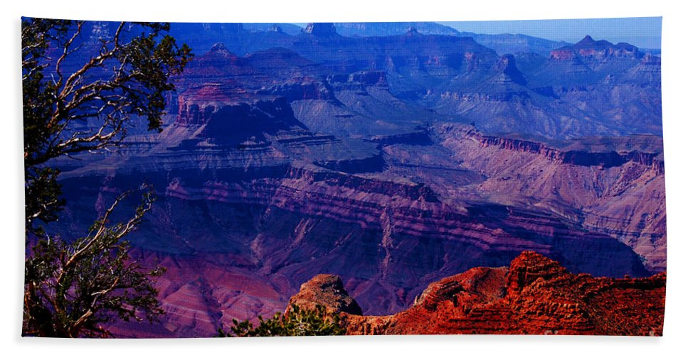Majestic Beach Towel featuring the photograph Majestic Grand Canyon by Susanne Van Hulst