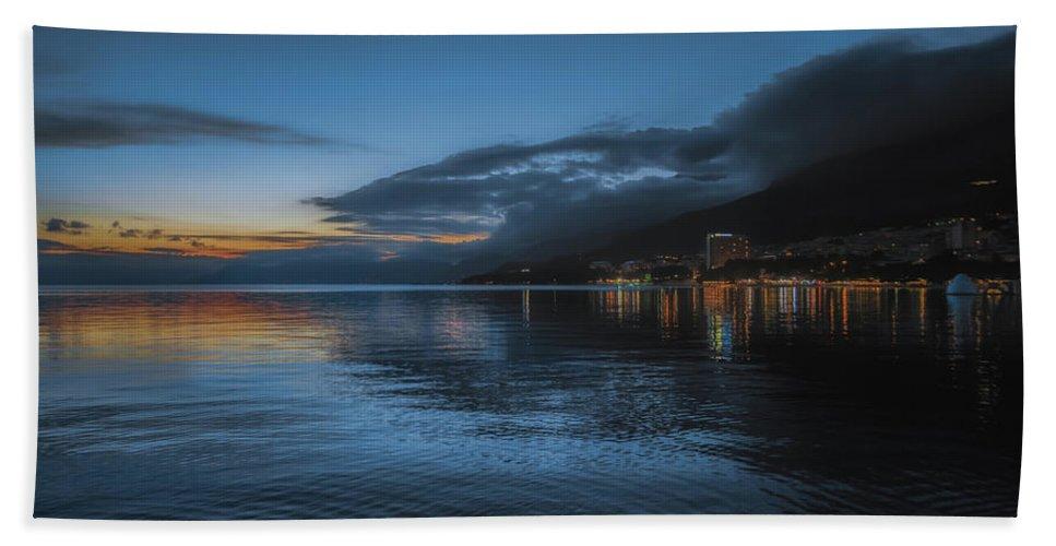 Blue Beach Towel featuring the photograph Makarska No 2 by Chris Fletcher