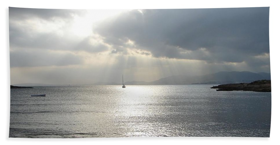 Mallorca Beach Towel featuring the photograph Mallorca by Ana Maria Edulescu