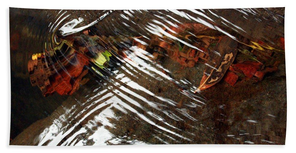 Manoa Falls Beach Towel featuring the photograph Manoa's Fallen by Jennifer Bright