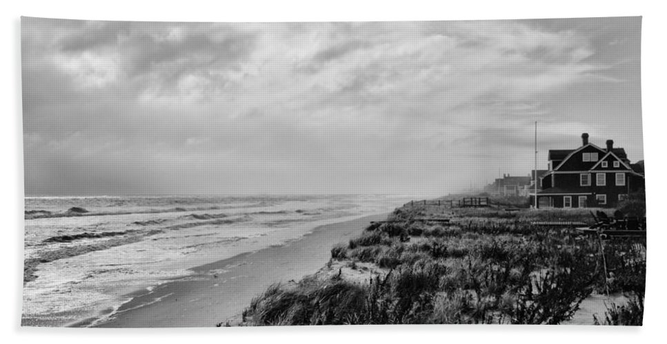 Jersey Shore Beach Towel featuring the photograph Mantoloking Beach - Jersey Shore by Angie Tirado
