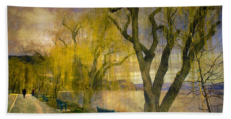 Lake Beach Towel featuring the photograph March 14 2010 by Tara Turner