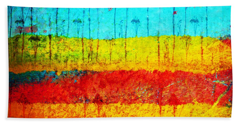 Colour Beach Towel featuring the photograph March 6 2010 by Tara Turner