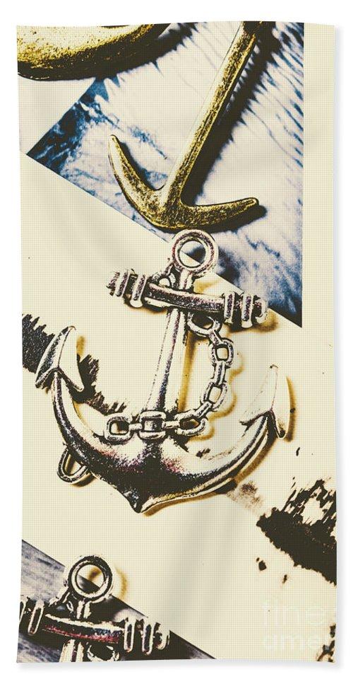 Marine Beach Towel featuring the photograph Marine Insignia by Jorgo Photography - Wall Art Gallery