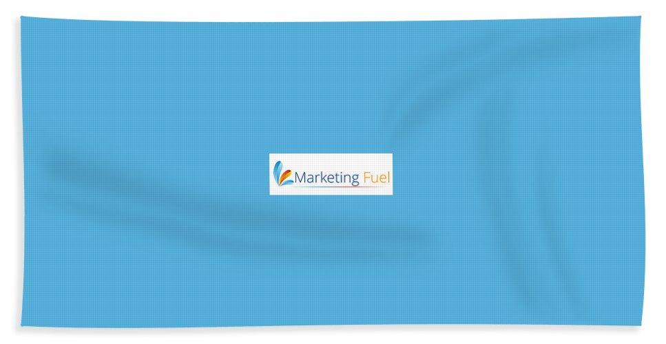 Telemarketing Data Lists Beach Towel featuring the digital art Marketing Fuel by Daisy James