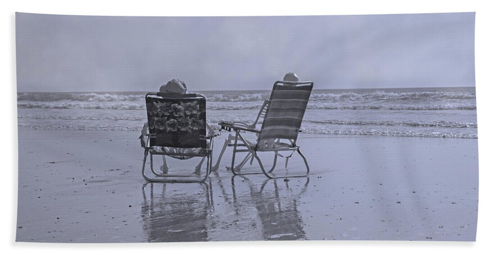 Chair Beach Towel featuring the photograph Match Made In Heaven by Betsy Knapp