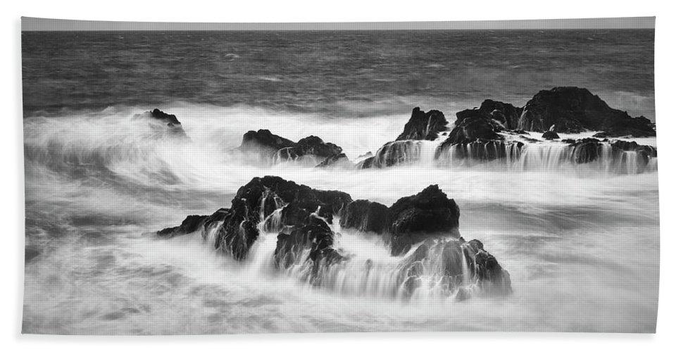 Jon Evan Glaser Beach Sheet featuring the photograph Maui In Turmoil by Jon Glaser