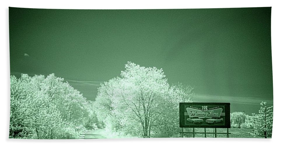 Lexington Beach Towel featuring the photograph Memory Lane Opus 2 by Fred Hahn