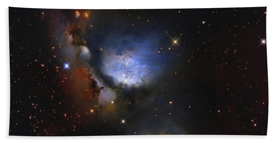 Molecular Clouds Beach Towel featuring the photograph Messier 78, A Reflection Nebula by Roberto Colombari
