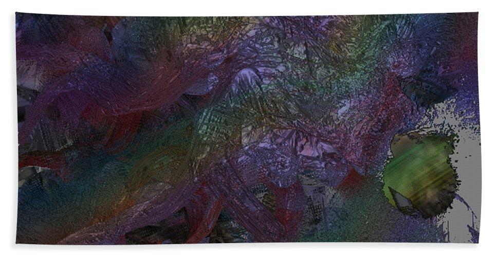Digital Beach Towel featuring the digital art Metallic Color by J P Lambert