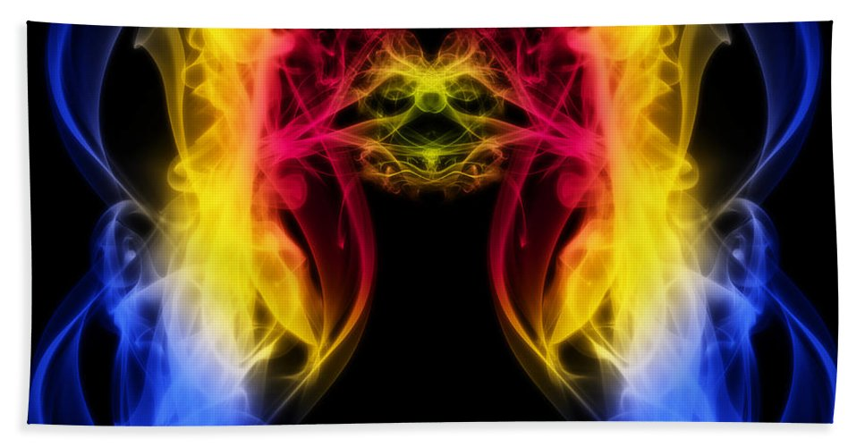 Clay Beach Towel featuring the digital art Metamorphis by Clayton Bruster
