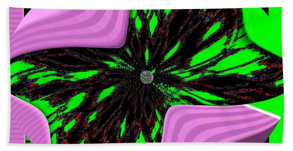 Metamorphose Beach Towel featuring the digital art Metamorphose by Will Borden