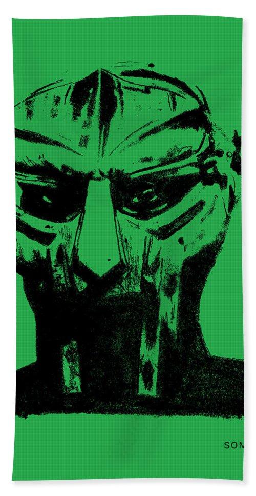 Mf Doom - Green As Special Herbs Remix Beach Towel