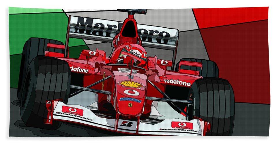 F1 Racing Ferrari BeachPool Bath Towel100/% CottonGrand Prix