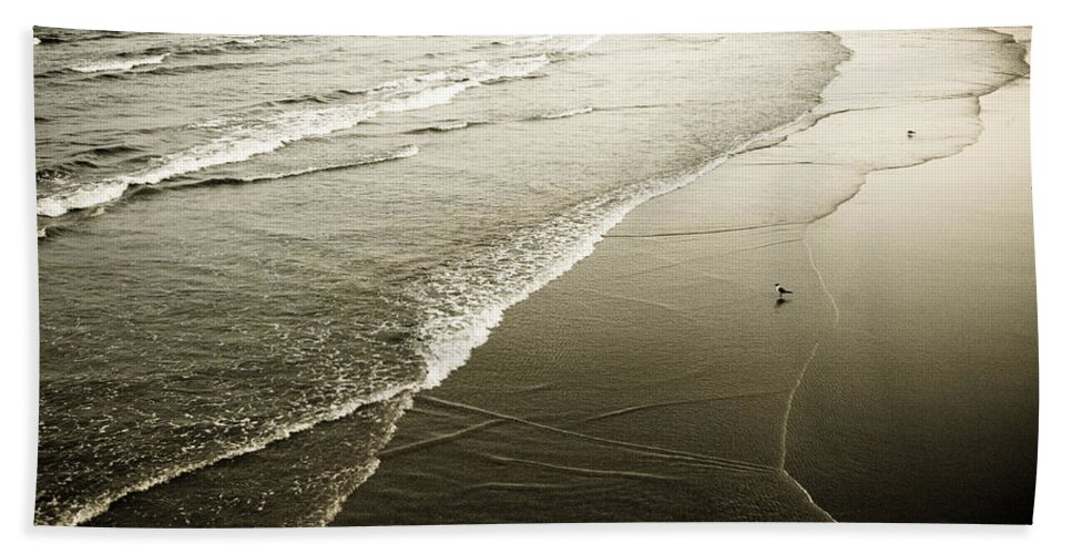 Ocean Beach Towel featuring the photograph Mid-summer Morning by Marilyn Hunt
