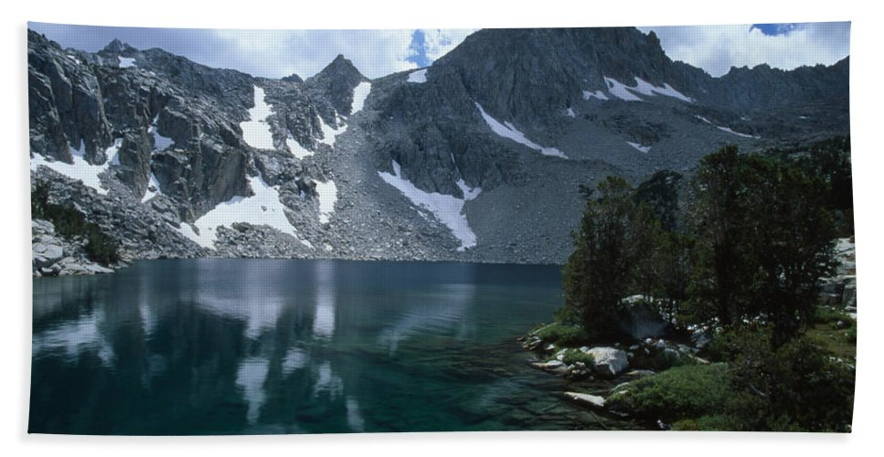 Midnight Lake Beach Towel featuring the photograph Midnight Lake by Soli Deo Gloria Wilderness And Wildlife Photography