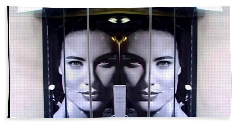 Dream Beach Towel featuring the photograph Mirror Image by Charles Stuart