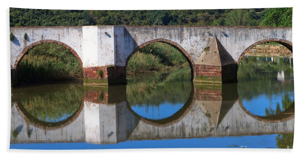 Ponte Romana Beach Towel featuring the photograph Mirror by Louise Heusinkveld
