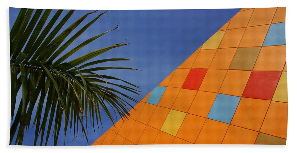 Architecture Beach Towel featuring the photograph Modern Architecture by Susanne Van Hulst