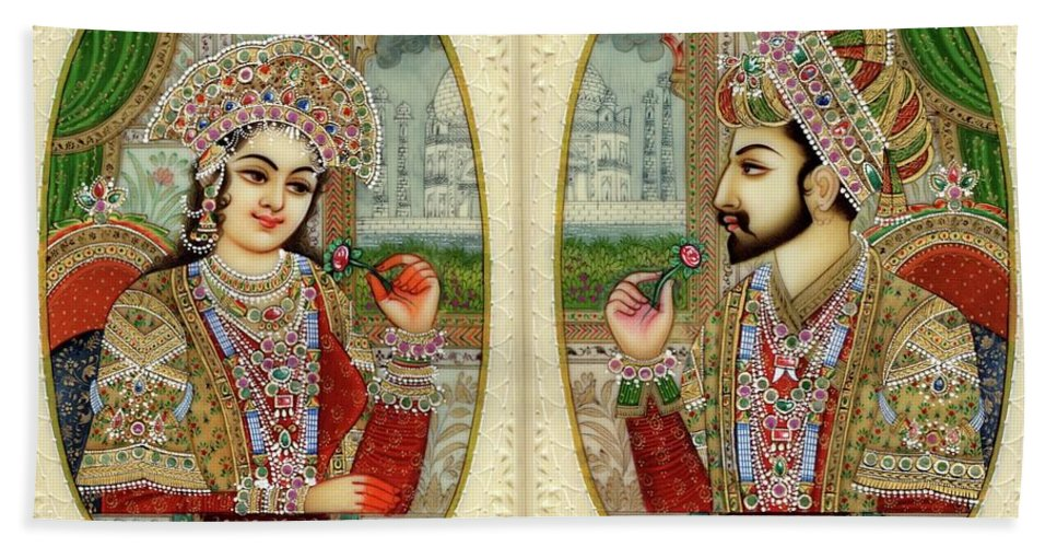 Blissfull: Real Shah Jahan And Mumtaz Mahal