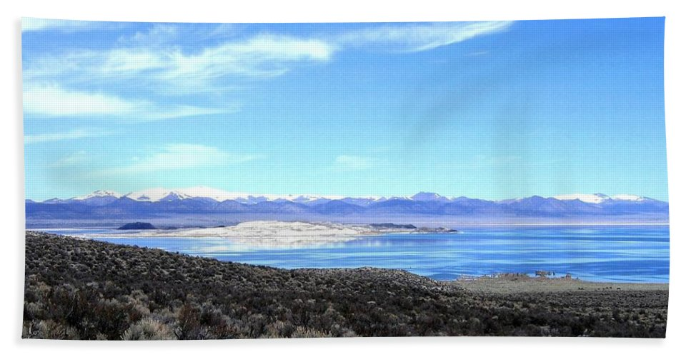 Mono Lake Beach Towel featuring the photograph Mono Lake by Will Borden