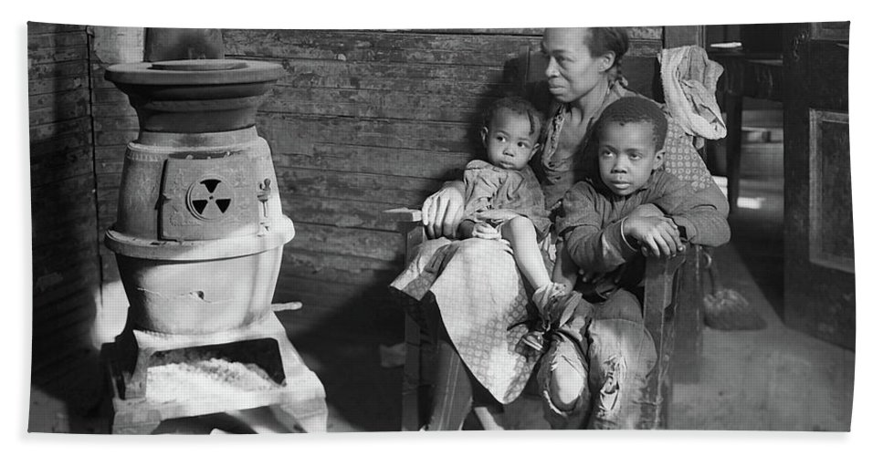 Mother And Children During The Great Depression West