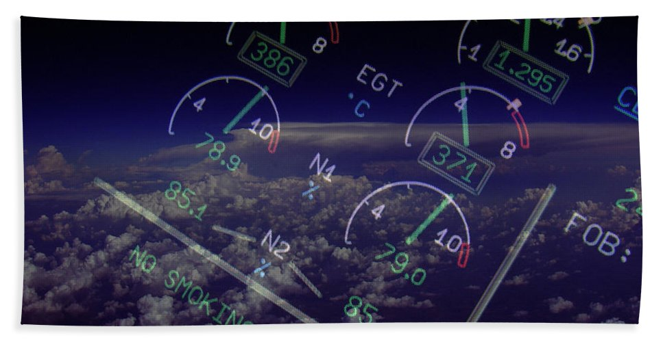 Aviation Art Beach Towel featuring the photograph Motor Stuff by Strato ThreeSIXTYFive