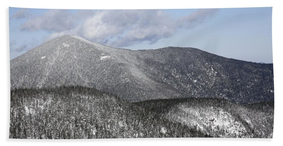 Hike Beach Sheet featuring the photograph Mount Carrigain - White Mountains New Hampshire Usa by Erin Paul Donovan